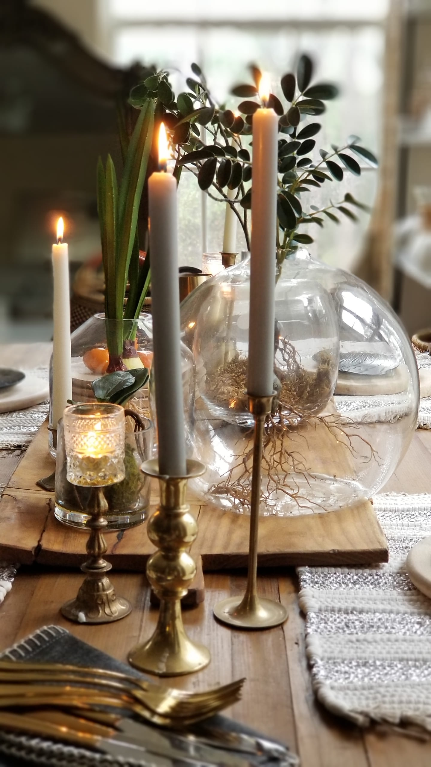 Style Your Dining Table With Natural Elements And Organic Decor For 2019 Bees N Burlap